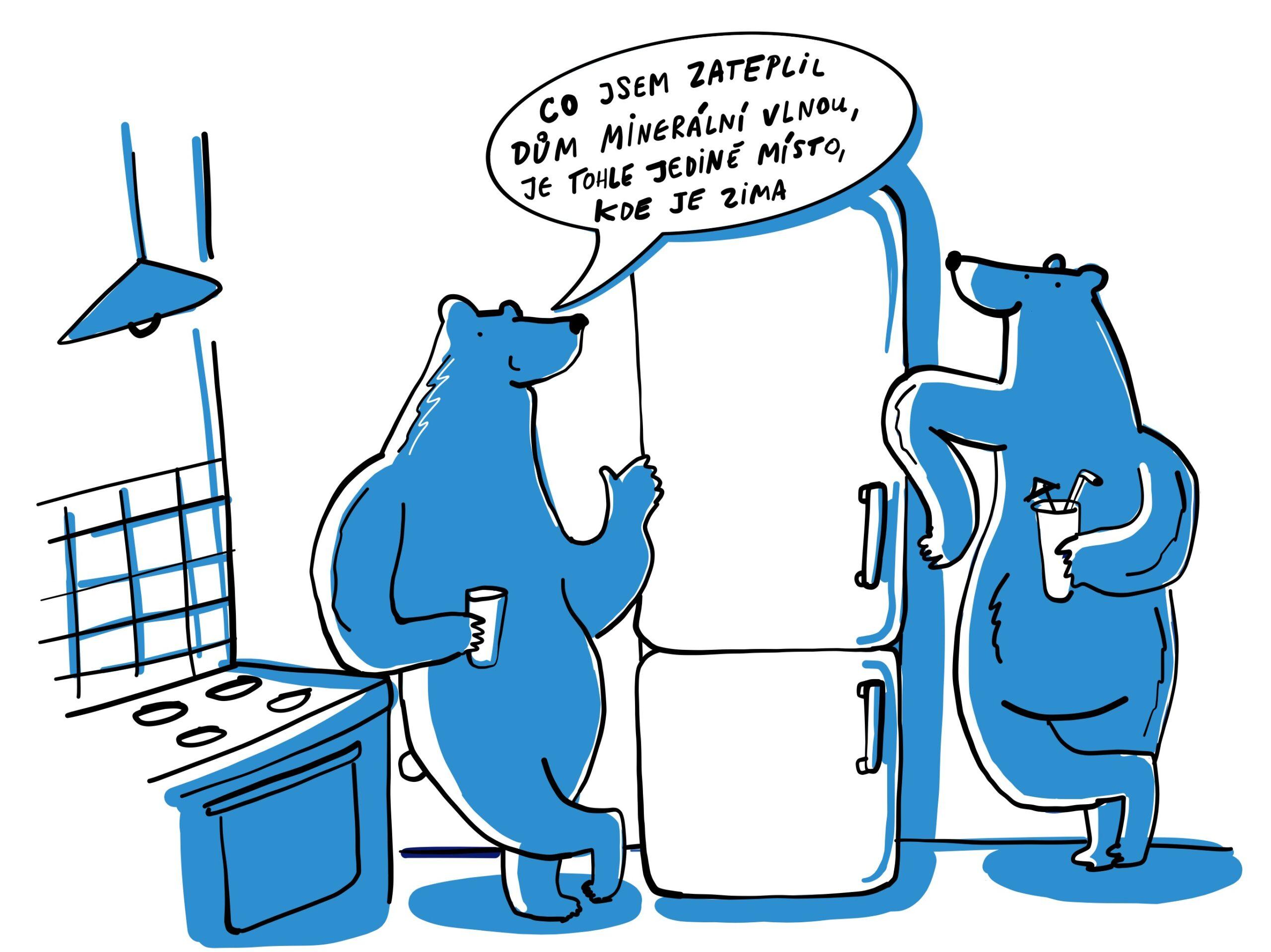 I v mrazech mají lední medvědi doma pěkně teplo!